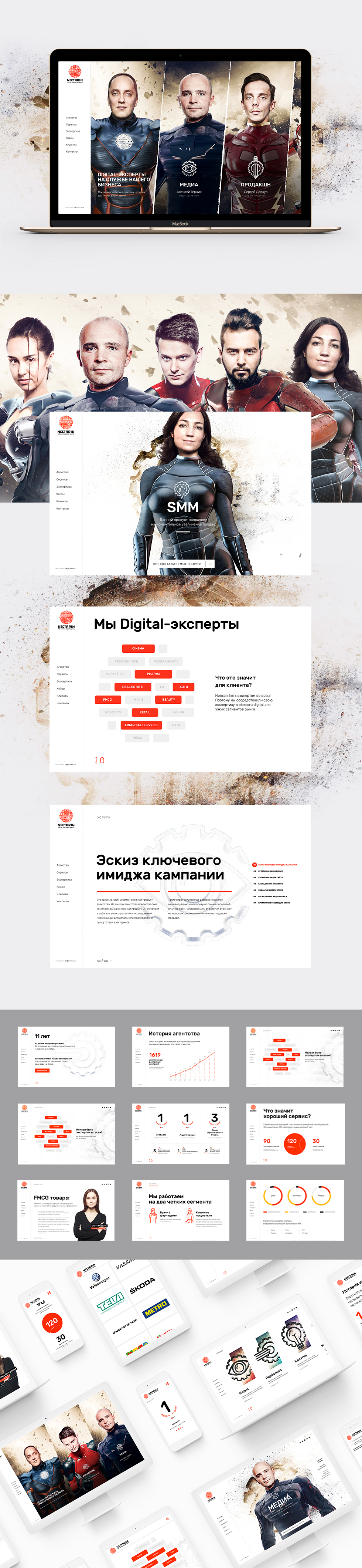 NECTARIN full service digital agency